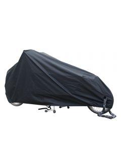 All-over cover cargobike long zwart