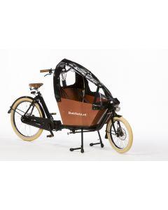 Tent Cargobike short all-open