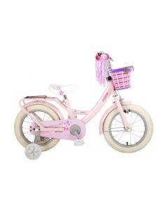 14 inch meisjesfiets roze