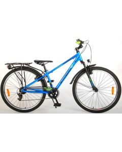 Cross 26 inch 7 speed blauw/groen