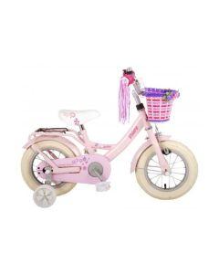 12 inch meisjesfiets roze